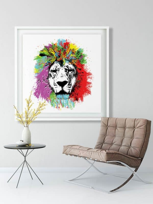 Modern Art Lion