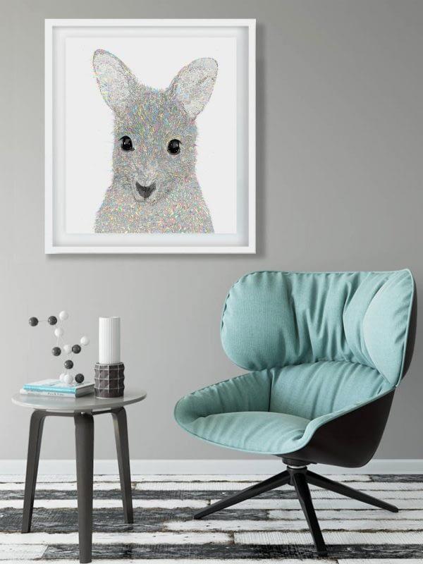 Wallaby art