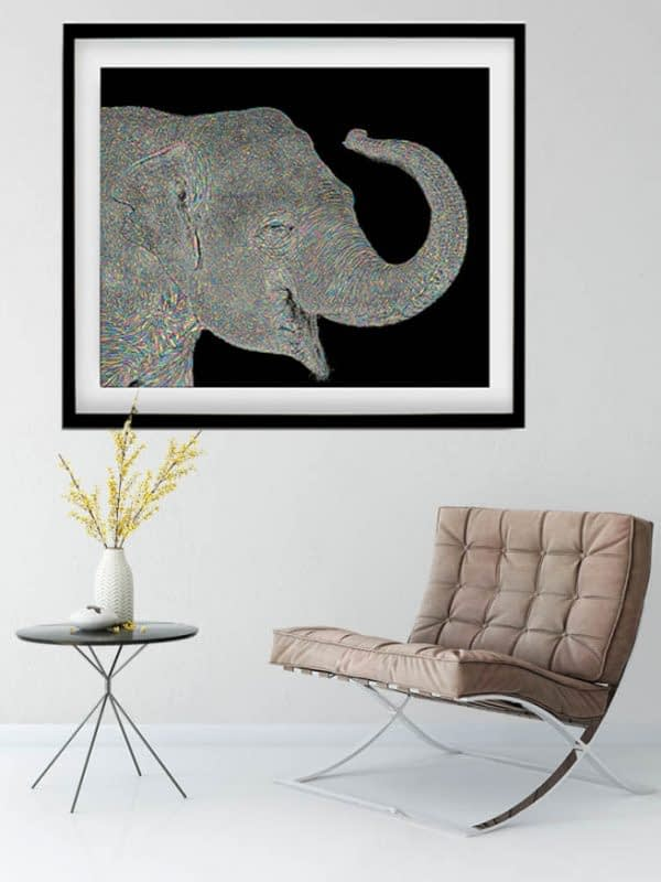 Asian Elephant Art