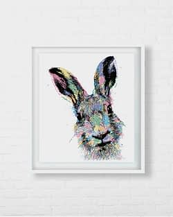 Rabbit Hare Art