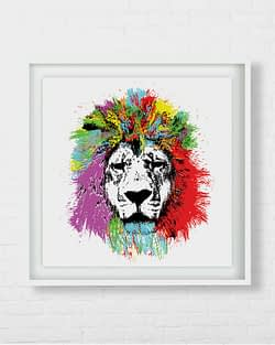 Amazing Lion Art