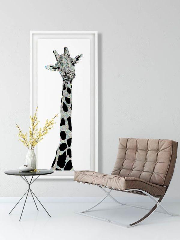 Giraffe Stunning Art