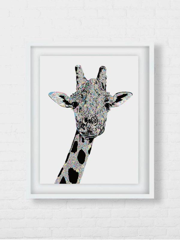 Stunning Giraffe Art