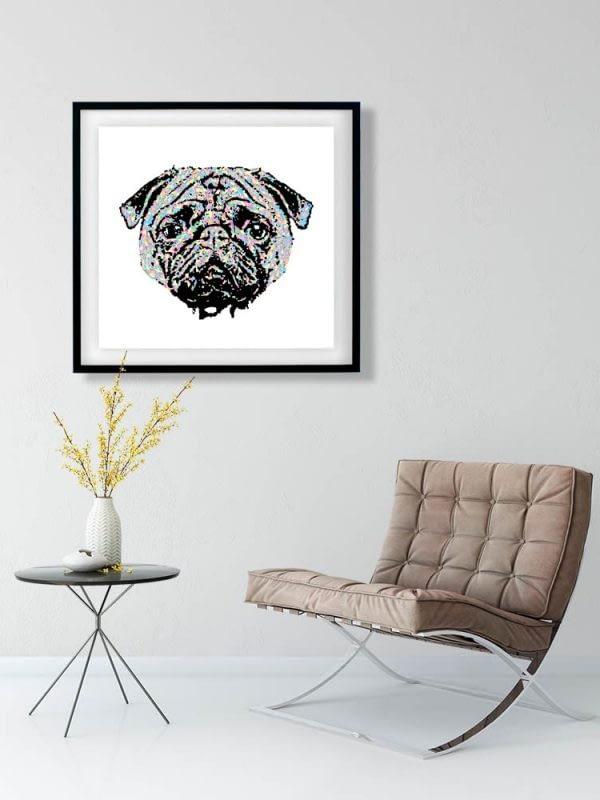 Pug Life Art