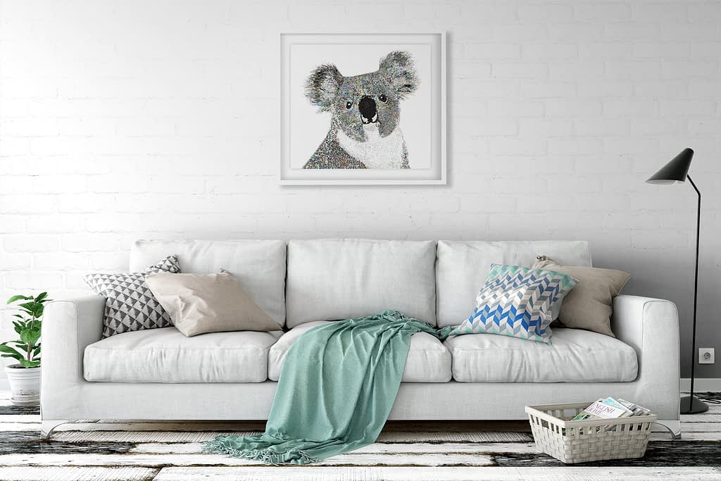 Koala Art Living Room